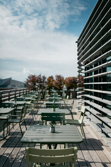Luxembourg | Bar Chair by FERMOB