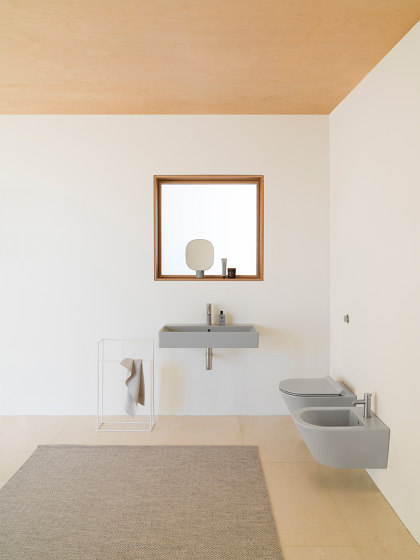 Kube X 40x23 | Washbasin by GSI Ceramica