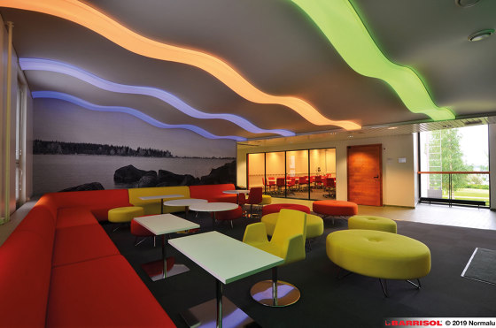 Our lightings solutions | Barrisol® Light strips by BARRISOL