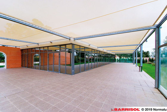 Our solutions for outside | Barrisol Trempovision® by BARRISOL