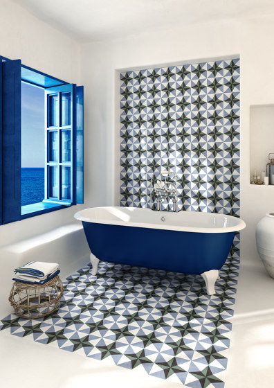 Sicily Tiles | Filicudi A de Devon&Devon