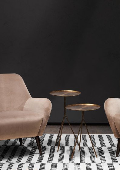 9350 Him & her Small tables de Vibieffe