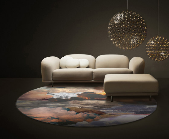 Walking on Clouds | Dawn Rectangle by moooi carpets