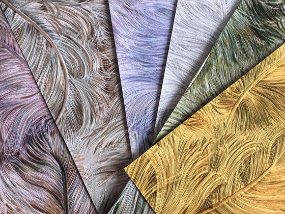 CAHILL - Papel pintado aspecto peludo Profhome 822602 de e-Delux