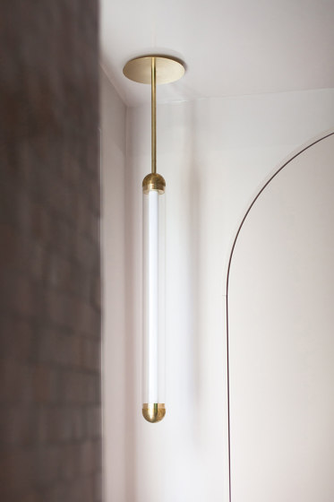 Capsule Alas Brushed Brass by Cameron Design House