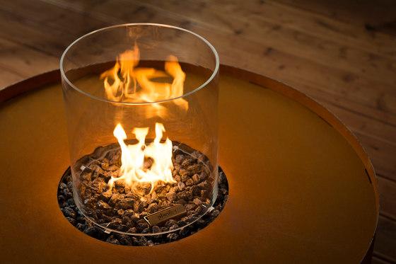 Galio Fire Pit Corten by Planika