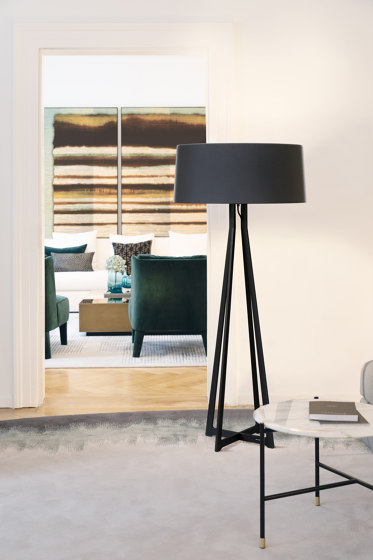 No. 47 Floor Lamp Velvet Collection - Prugna - Fenix NTM® by BALADA & CO.