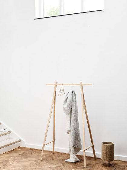 Coat Stand Oak 150 by Made By Hand
