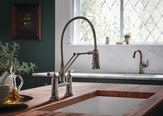 Wall Mount Pot Filler Faucet by Brizo
