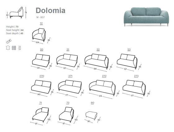 Dolomia Armchair by Extraform