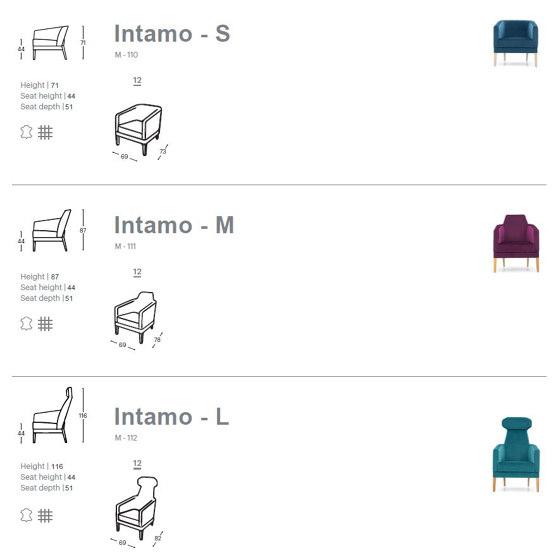 Intamo-S Armchair by Extraform