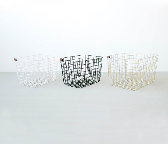 Wire Basket | L | gold by Moheim