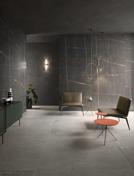 Eclectic Pinstripe Dark by Keope