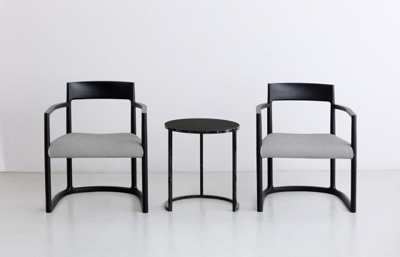 SWEEP | Lounge Armchair by By interiors inc.