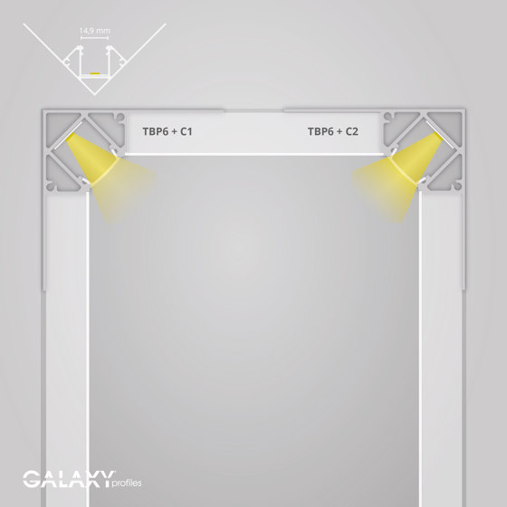TBP6 series | Cover C2 clear 200 cm by Galaxy Profiles