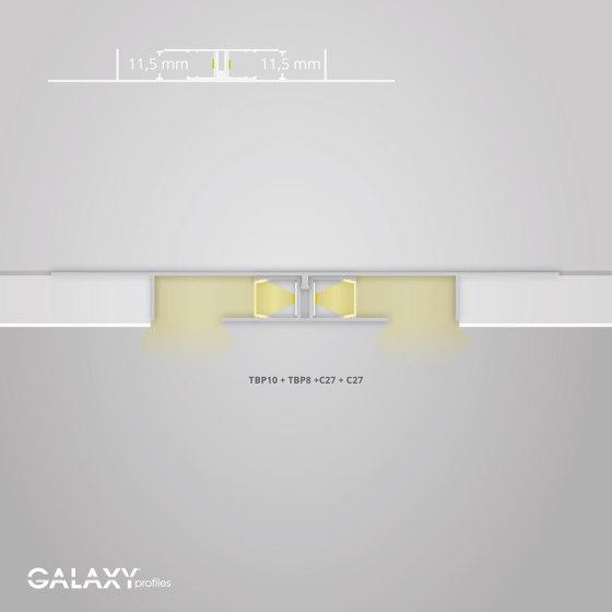 TBP10 series | TBP10 LED drywall profile 200 cm by Galaxy Profiles