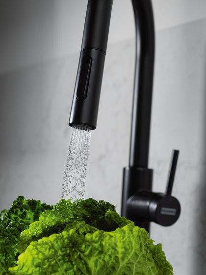 Pescara Tap Pull Down Spray U Spout Chrome by Franke Kitchen Systems