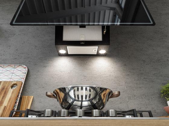 Smart Vertical 2.0 Hood FPJ 915 V BK/ DG Glass Black by Franke Kitchen Systems