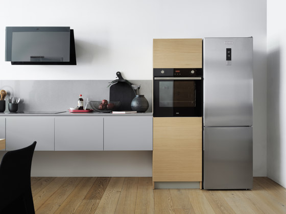 Free Standing Refrigerator FCBF 340 TNF XS A+ Stainless Steel by Franke Kitchen Systems