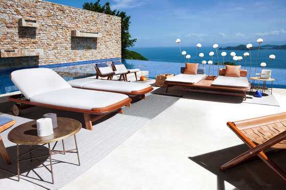 10th Tellaro Sun Lounger di Exteta