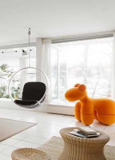 Pony, upholstery: snow white by Eero Aarnio Originals