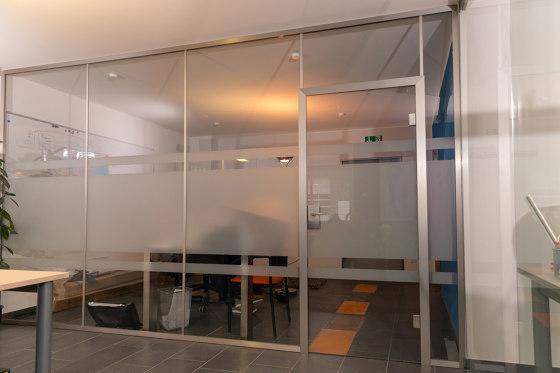 Slim | Trennwand ohne Tür by glasprofi24