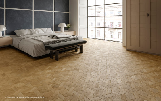 HEARTWOOD Moka Mansion Weave 34,6x40 de Atlas Concorde