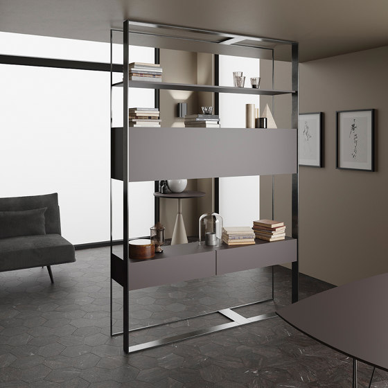 Umbra Marrón Bush-hammered by INALCO