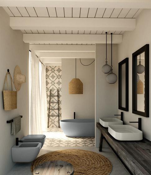 Shui Comfort freestanding bathtub de Ceramica Cielo