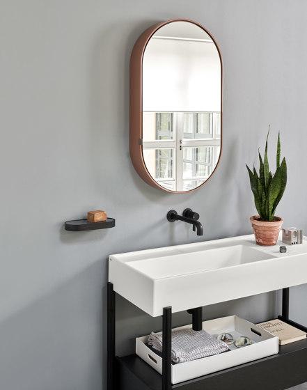 Catino mirror Round box by Ceramica Cielo