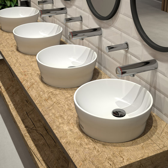 RONDAtop countertop basin by Franke Water Systems