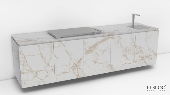 LUXURY KITCHEN ISLAND EMPIRE by Fesfoc