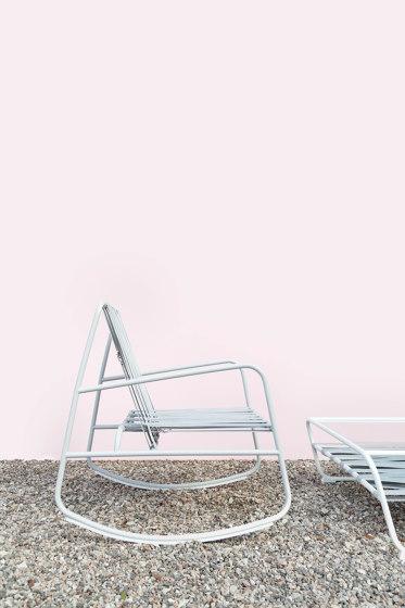 Dozequinze Rocking Chair by Diabla