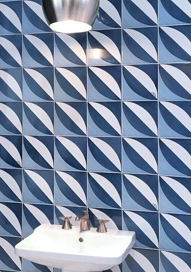 Blu Ponti Decoro Tipo 1 by Ceramica Francesco De Maio