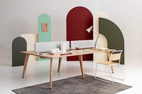 Theodore | Bench Desk System by Liqui Contracts