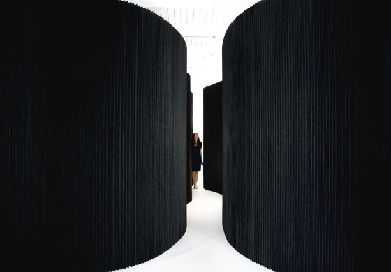 textile softwall by molo