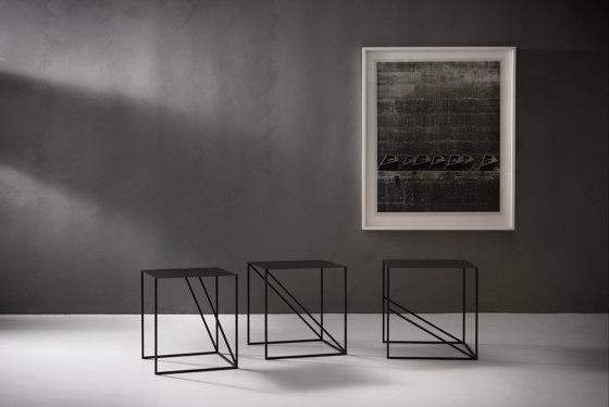 Oblique Square Sofa Table by ASPLUND