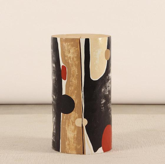 Alexandre HandPainted Log Table by Pfeifer Studio