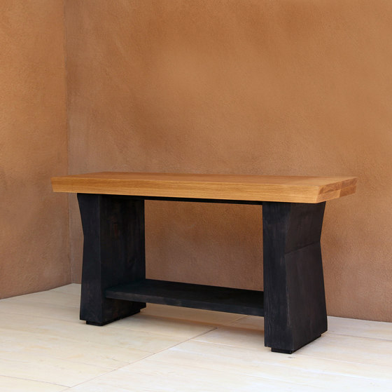 Carvalho Solid Wood Console Table by Pfeifer Studio