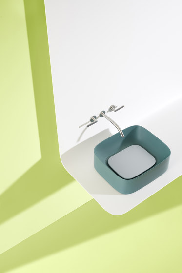 Acquerello Sink | 60 x 38  h15 by Valdama