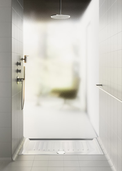 H6 100X70 | Shower Tray by GSI Ceramica
