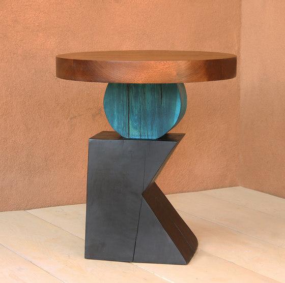Lazlo Sculptural End Table by Pfeifer Studio