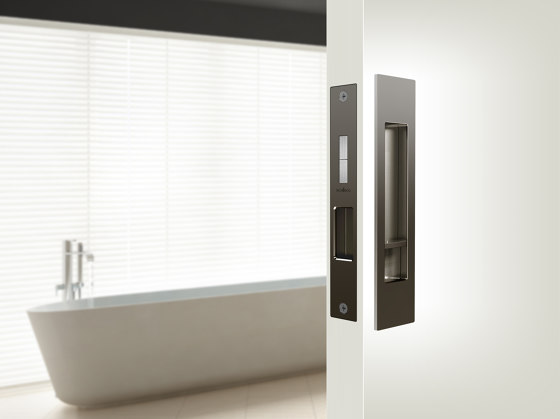 Mardeco Flush Pull Privacy Set Polished Chrome by Mardeco International Ltd.