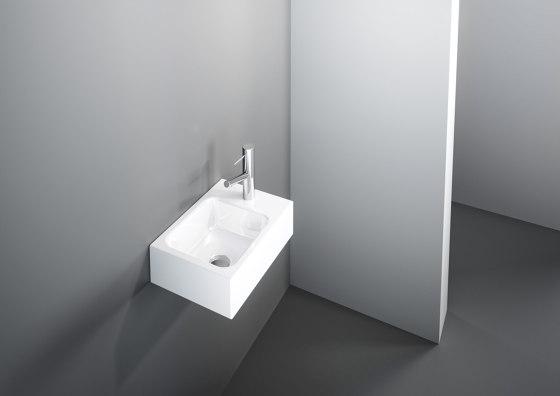 MERO MINI VARIO counter top washbasin by Schmidlin