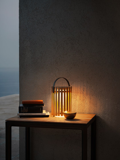 Star Table Lamp Outdoor Rope by solpuri