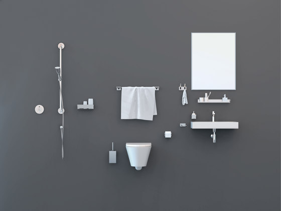 Innox Toilet brush set by Bodenschatz