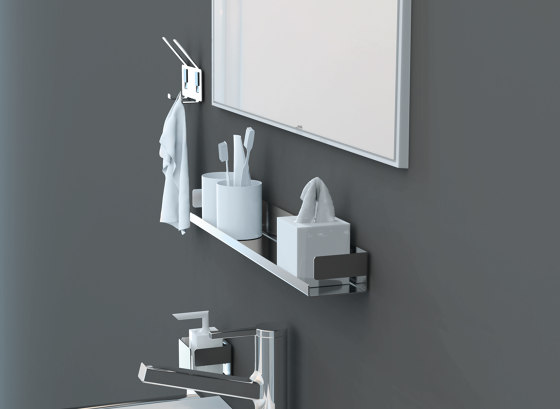 Innox Toilet paper holder by Bodenschatz