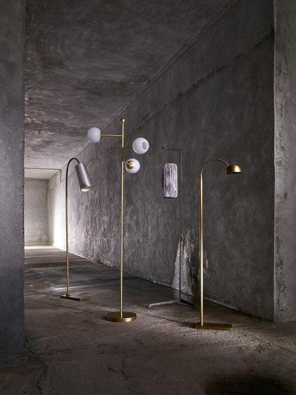 Arc Floor Lamp by Porta Romana