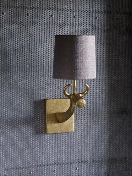 Cow Bathroom Wall Light by Porta Romana