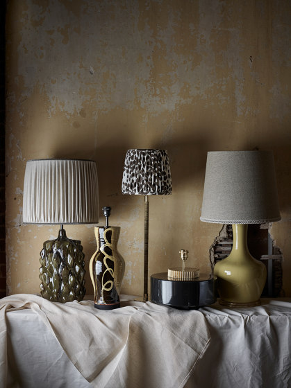 Marlowe Lamp Black by Porta Romana